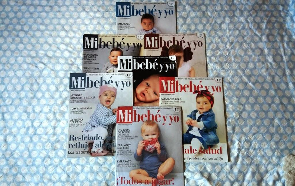 Revistas Mi Bebe y Yo Muestras gratis para embarazadas y bebes
