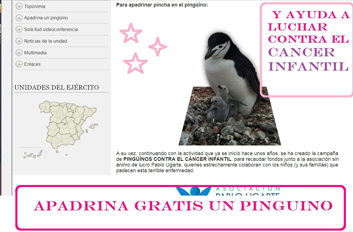 apadrina un pinguino gratis